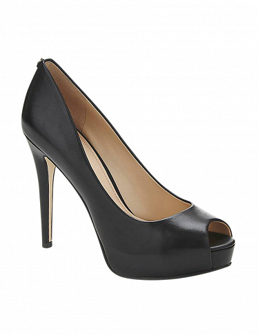 Guess Pumps Peeptoe, schwarz