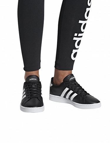 adidas grand court noir femme