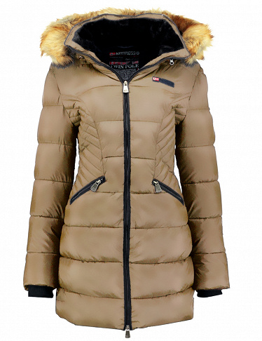 Parka Abby Lady, taupe