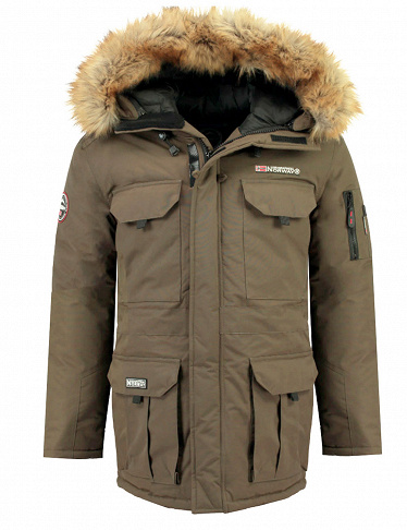 Geographical Norway Herrenparka «Bottle», kaki