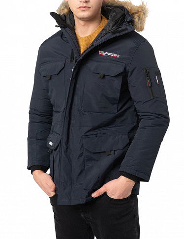 Geographical Norway Herrenparka «Bottle», navy