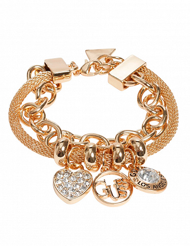 GUESS Armband mit Charms