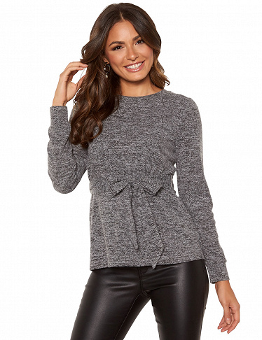 Top von Happy Holly, grau meliert