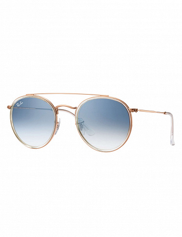 Ray-Ban Sonnenbrille «Round Double Bridge»