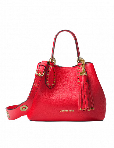 Michael Kors Handtasche «Brooklyn Small», rot