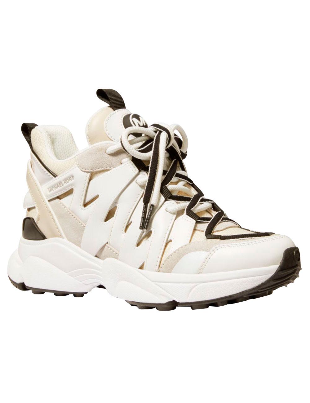 Michael Kors Sneakers «Hero», weiss/beige