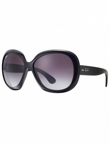 Ray-Ban Sonnenbrille «Jackie Ohh II», schwarz