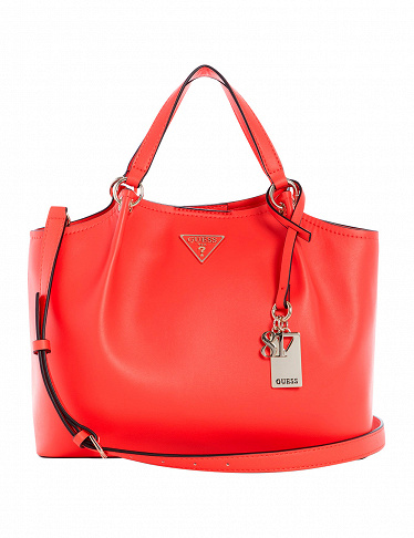 GUESS Handtasche «Tangey Girlfriend», koralle