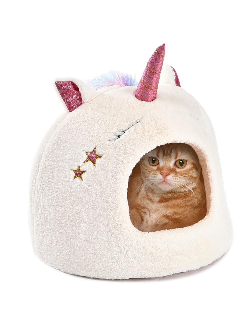 Niche pour chat «Licorne»