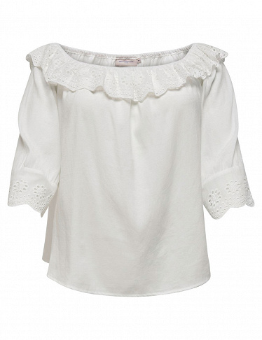 ONLY CARMAKOMA Top, weiss