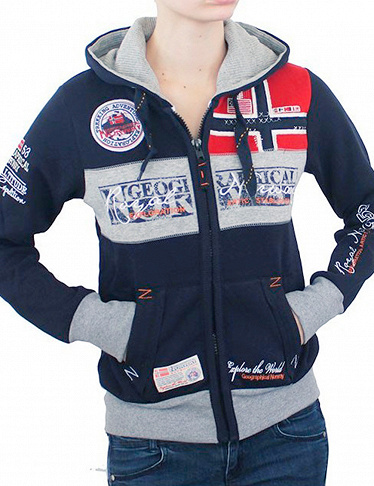 Geographical Norway Expedition Sweat für SIE «Flyer Lady», navy