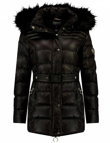 Geographical Norway Expedition Parka «Aimeraud Lady», schwarz
