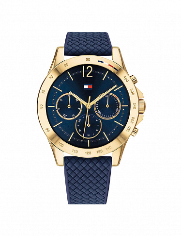 Tommy Hilfiger Damenuhr «Haven», blau