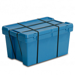 Hazardous goods shipping container 598x398x329 with lid