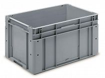 Automation container with solid sidewalls, 600x400x320mm
