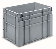 Automation container with solid sidewalls, 600x400x420mm