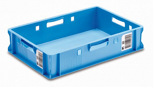 Meat Container, E1 Performance 600x400x125