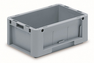 Automation container with solid sidewalls, 300x200x120mm