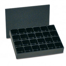 355x255x55mm compartment tray