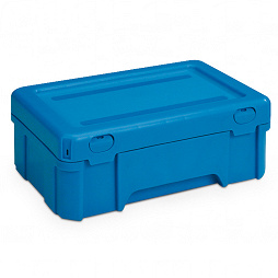 Stackable dispatch container 298x198x120 with lid without insert