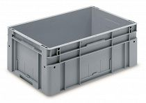 Automation container with solid sidewalls, 600x400x270mm