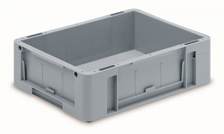 Automation container with solid sidewalls, 400x300x120mm