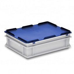400x300 hinged lid to suit RAKO & EUROTEC stacking containers