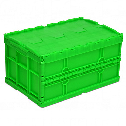 Foldable box, base with ribbing