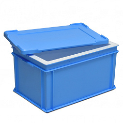 Insulated box COOLBOX with lid