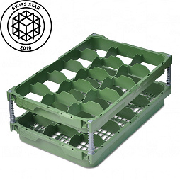 Glas Manager (Set), 15 compartments