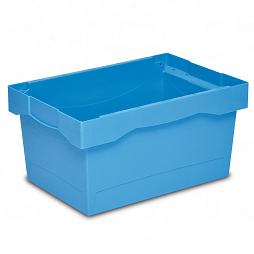 Nestable container NESCO, solid base