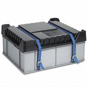 Reusable service box with lid 585x510x295 mm