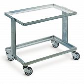 Transport dolly double-deck 618x418x505 mm