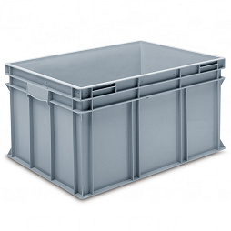 Stacking container RAKO, enclosed double base