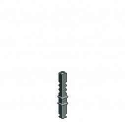 Column for Glas Manager, glass height 80-130 mm