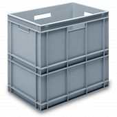 Stacking container RAKO, SGL solid base