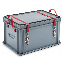 Hazardous goods container, packing group I-III