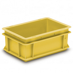 Stacking container RAKO ESD, solid base