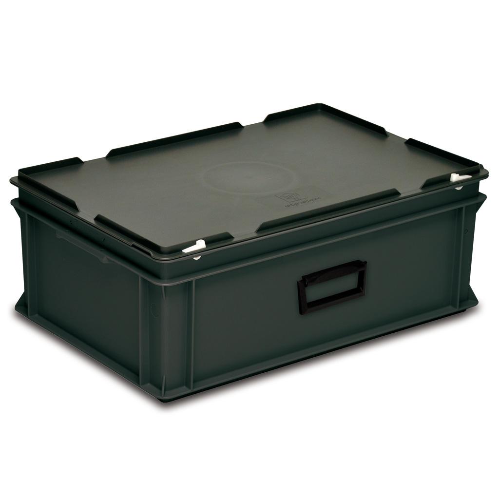 rako koffer esd 600x400x235 mm online bestellen georg utz ag. Black Bedroom Furniture Sets. Home Design Ideas