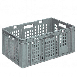 Plastic crate SGL 598x398x280 mm