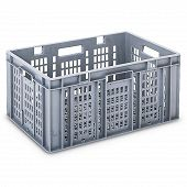 Plastic crate SGL 600x400x278 mm