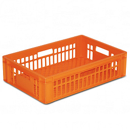 Bakery container / bread tray, grated base
