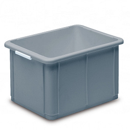 Stacking container STANDARD, solid base
