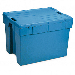 Dispatch container POOLBOX with lid 798x598x600 mm