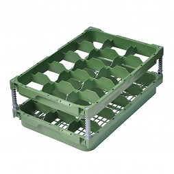 Glas Manager (Set), 15 compartments, packed in a cardboard box