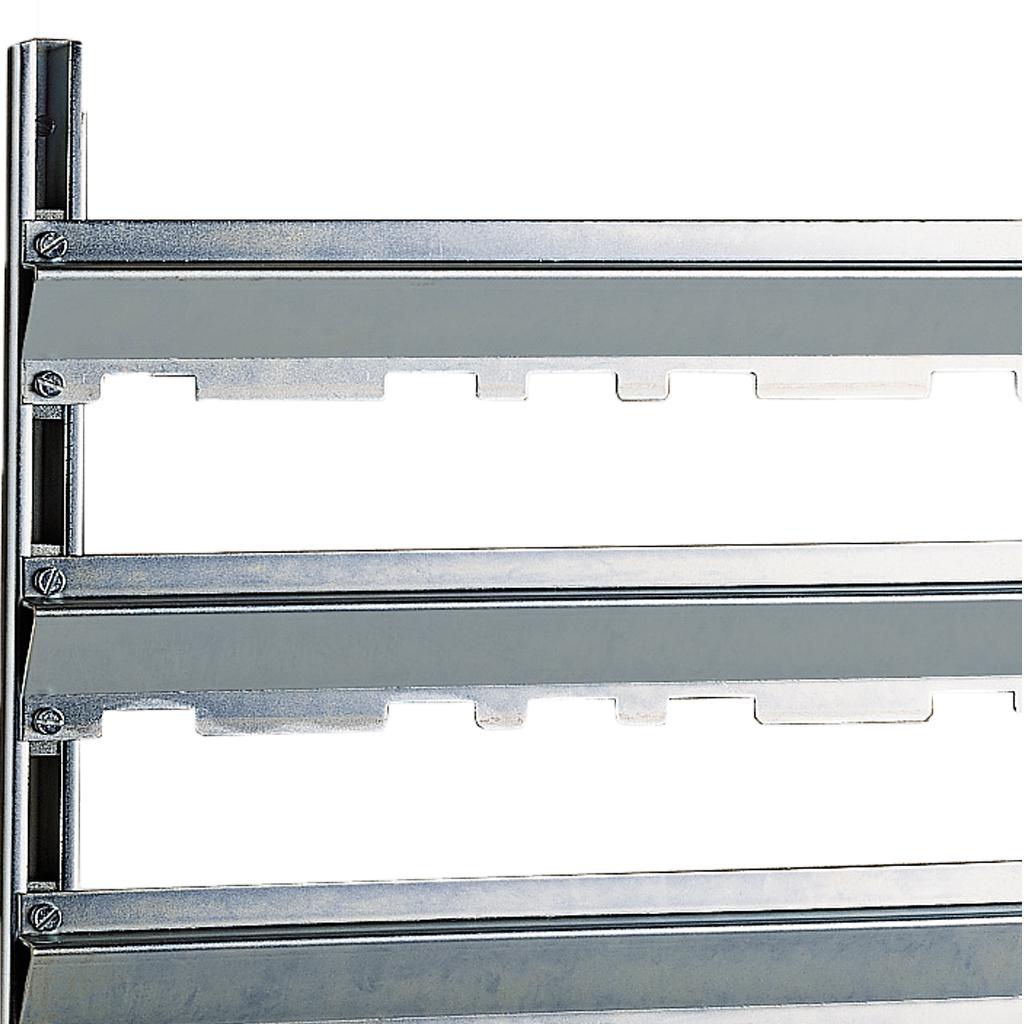 Barre porta contenitori da parete ordinare on line georg - Chiudere la porta grazie ...