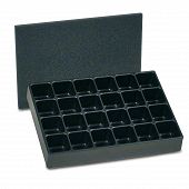 Compartment trays (Set), 24 compartments