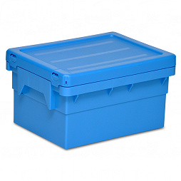 Dispatch container POOLBOX with lid 398x306x227 mm