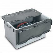 Reusable service box with lid 842x596x500 mm