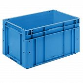 System container EUROTEC, base with ribbing